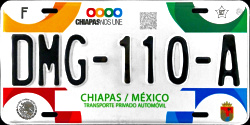 Chiapas Mexico License Plates Placas