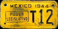 Tamaulipas Mexico License Plate Placa legislature poder legislativo