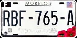 Morelos Mexico License Plates Placas