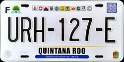 Quintana Roo Mexico License Plates Placas