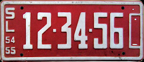 San Luis Potosi Mexico License Plate Placa dealer demostracion
