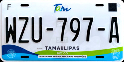 Tamaulipas Mexico License Plates Placas