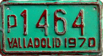 Valladolid Yucatan Mexico License Plate placa motorcycle motocicleta
